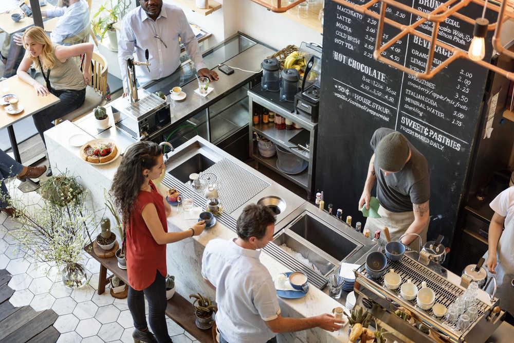 El crecimiento de las cafeterías como franquicia