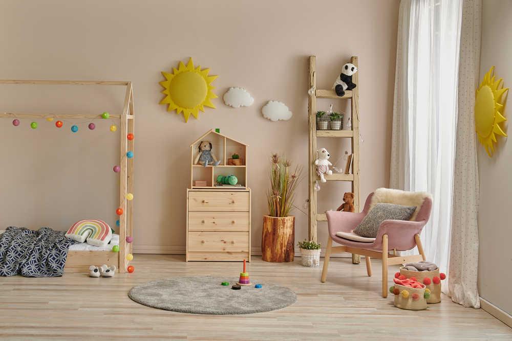 Los colores perfectos para habitaciones infantiles